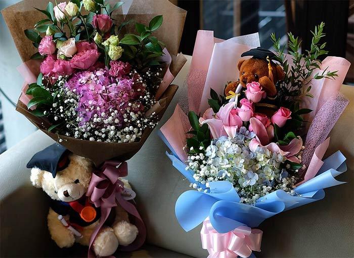 bisnis buket bunga