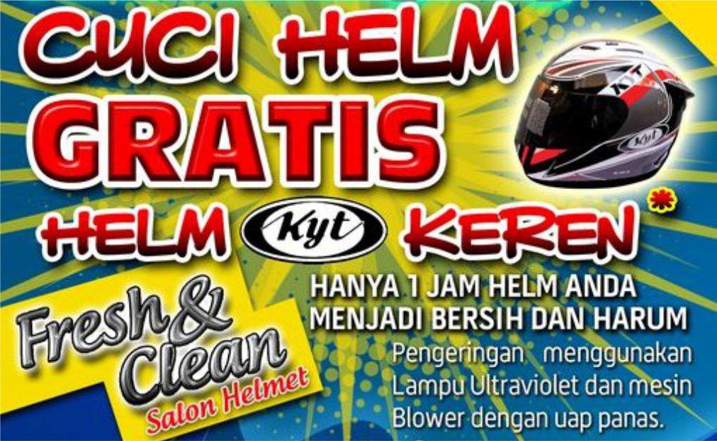 Bisnis Cucian Helm