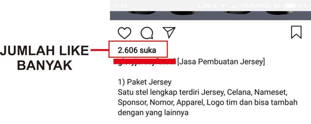 cara Top Post Instagram