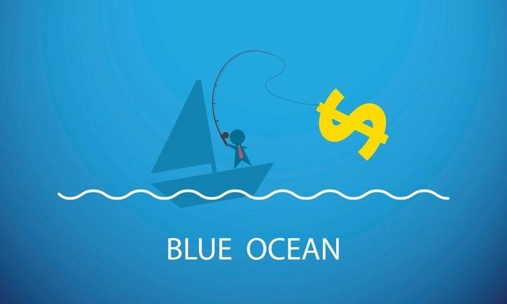 Blue ocean strategy adalah